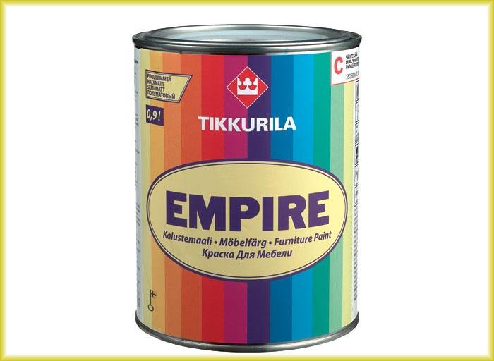 Специализированная алкидная краска для мебели Tikkurila Empire