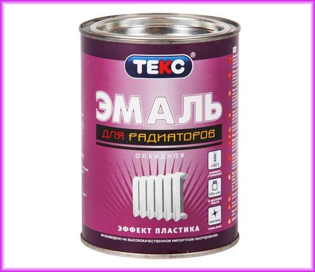 Алкидная эмаль – это доступный вид лакокрасочного материала, окрашивание которым рекомендуют производить в период отключения отопления