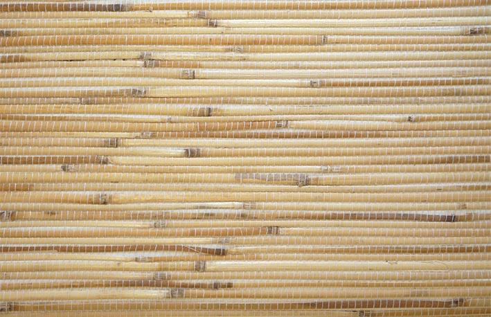 Структура обоев из бамбука