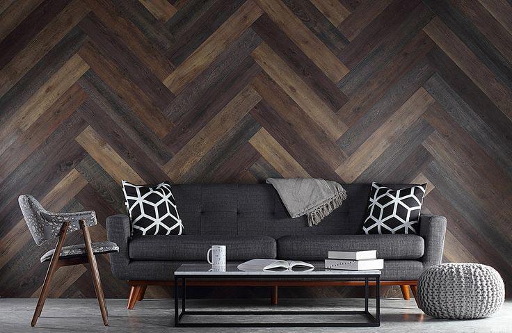 Укладка деревянной доски «ёлочкой»