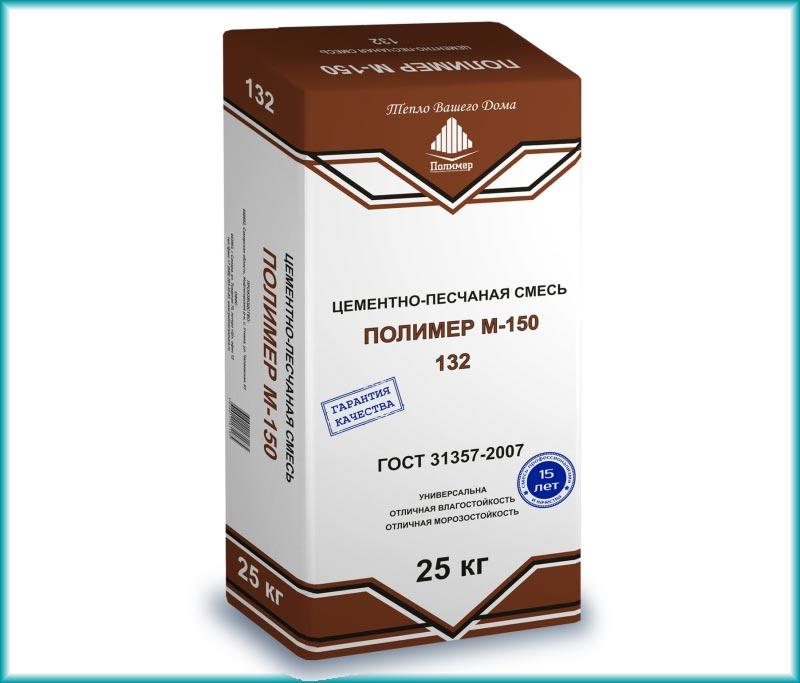 Цементно-песчаная смесь Полимер М-150