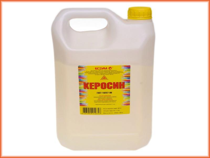 Керосину, также как и уайт-спириту, свойственно оставлять пленку, которая ухудшает адгезионные свойства поверхности
