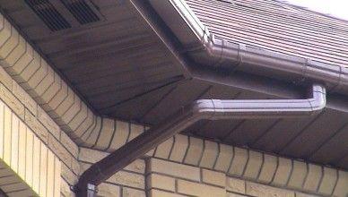 Варианты подшивки крыши сайдингом