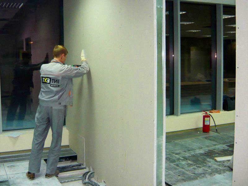 Плиты ГВЛ для стен: параметры и варианты монтажа