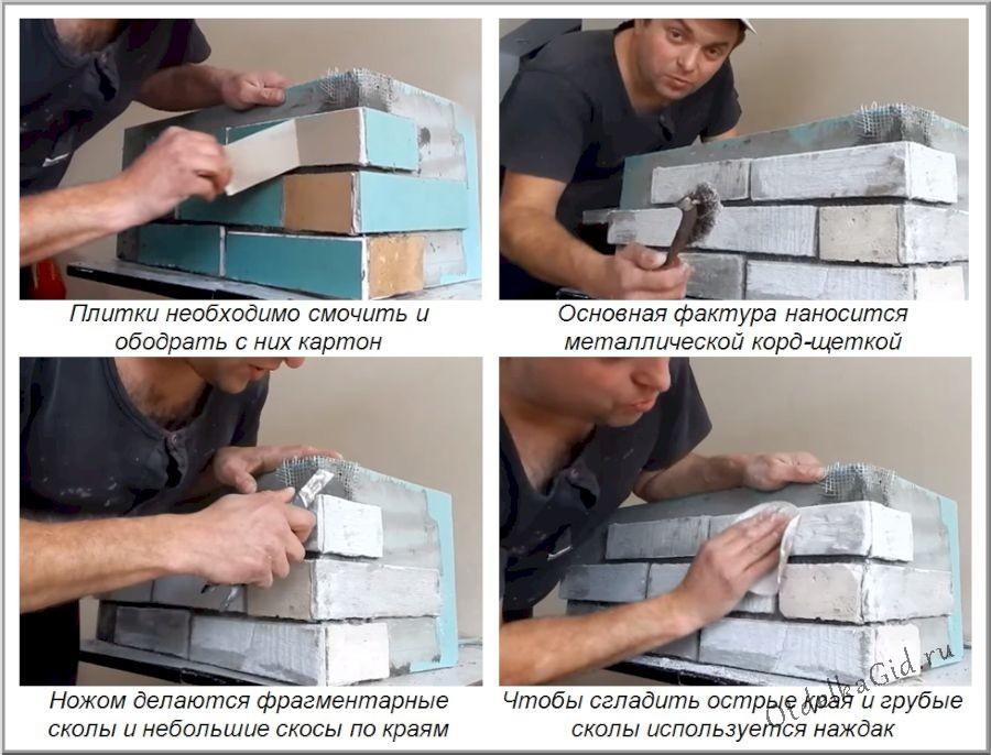 Создание камина из гипсокартона своими руками