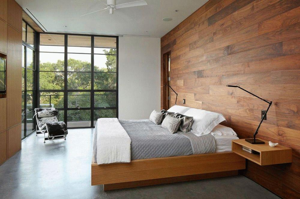 Паркетная доска на стенах - это стильно, оригинально и практично