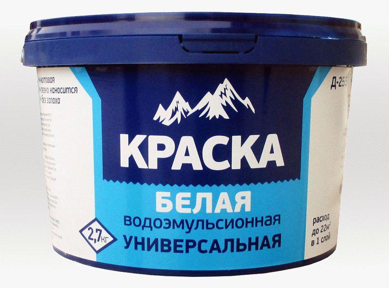 Водоэмульсионная краска - отличный и доступный вариант для окраски потолочной плитки