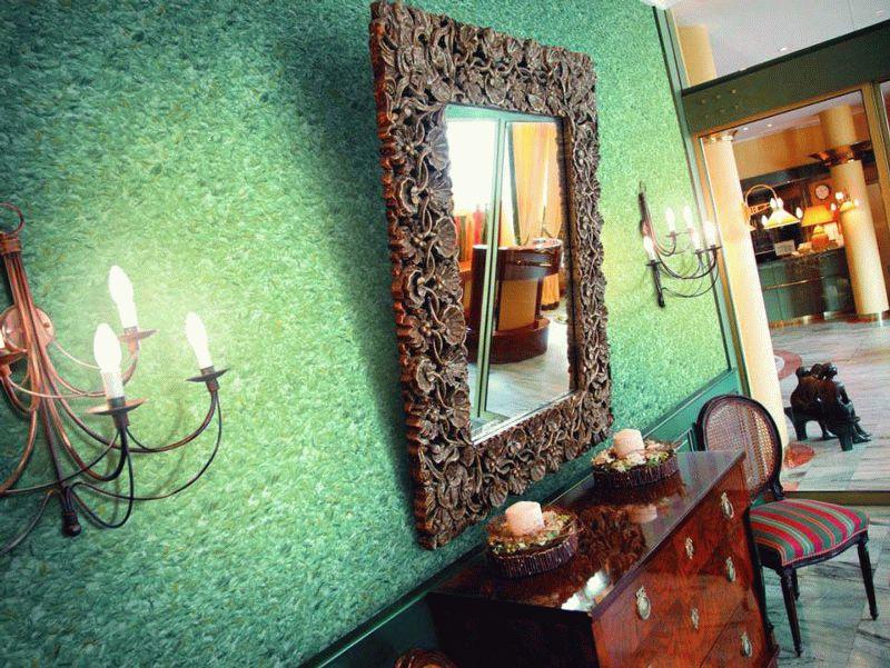 варианты декоративной отделки стен
