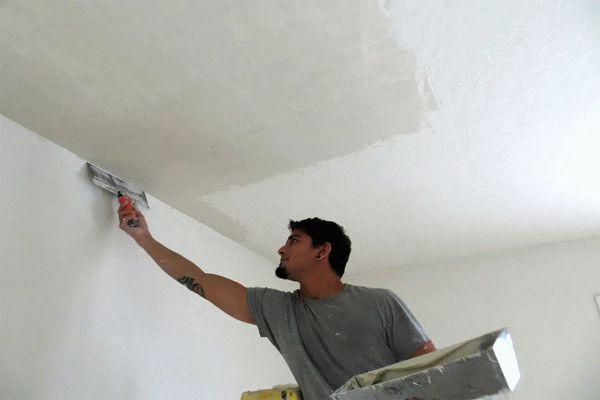 Выравнивание потолка в помещении