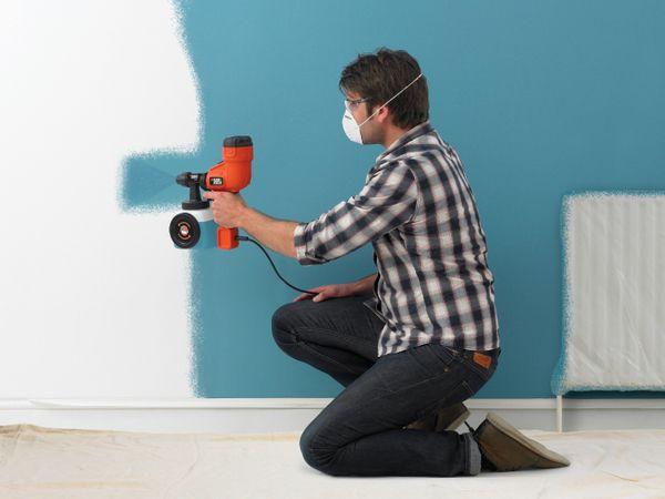 Краскопульт для водоэмульсионной краски своими руками